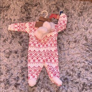 Warm and cozy snap footie pajamas